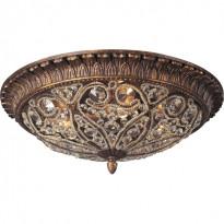 Светильник потолочный N-Light 615-04-03 Spanish Bronze