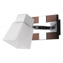 Спот N-Light 6200/1G9 Chrome + Brown Wood