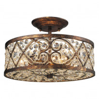 Светильник потолочный N-Light 623-04-03 Spanish Bronze