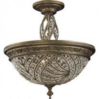 Светильник потолочный N-Light 6243/6 Dark Bronze