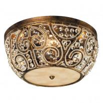 Светильник потолочный N-Light 6245/4 Spanish Bronze