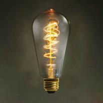 Ретро лампа накаливания Loft It E27 60W 220V 6460-CT