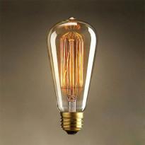 Ретро лампа накаливания Loft It E27 60W 220V 6460-SC