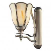 Бра N-Light 662-01-51 Antique Brass + Tiffany