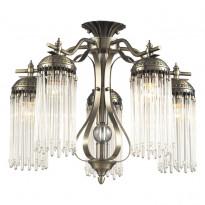 Светильник потолочный N-Light 663-05-52 Antique Brass