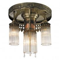 Светильник потолочный N-Light 664-04-52 Antique Brass