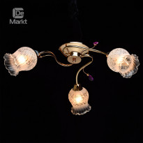 Светильник потолочный DeMarkt Флора 670010403