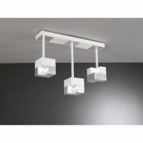 Светильник потолочный La Lampada PL 101/3P Wood Silver L.