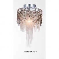 Светильник потолочный Crystal Lux HAUBERK PL 3