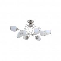 Светильник потолочный IDLamp 816/8PF-Whitechrome