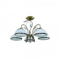 Светильник потолочный IDLamp 827/5PF-Oldbronze