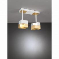 Светильник потолочный La Lampada PL 101/2P Wood Gold