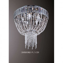 Светильник потолочный Crystal Lux DIAMOND PL 5