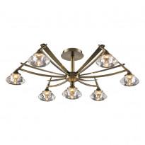 Светильник потолочный N-Light 907-07-53 Antique Brass