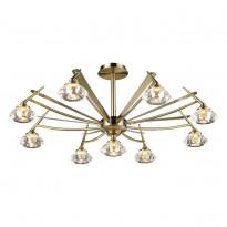 Светильник потолочный N-Light 907-09-53 Antique Brass