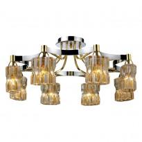 Светильник потолочный N-Light 919-08-13CG Chrome/Gold + Shampagne