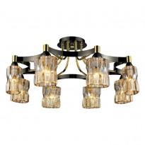 Светильник потолочный N-Light 919-08-33 Gold/Dark Chrome + Shampagne