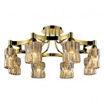 Светильник потолочный N-Light 919-08-33G Chrome/Gold + Shampagne