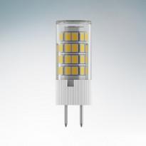 Светодиодная лампа Lightstar 220V G5.3 6Вт (соответствует 55Вт) 3000К (теплый белый) 940432