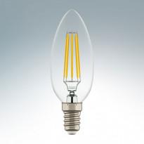 Светодиодная лампа Lightstar 220V C35 E14 4W (соответствует 40 Вт) 360G CL 4200K (белый) 940564