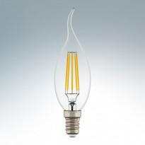 Светодиодная лампа Lightstar 220V CA35 E14 4W (соответствует 40 Вт) 360G CL 2800K (теплый белый) 940662