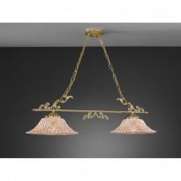 Светильник (Люстра) La Lampada L 664/2.26 Ceramic Madreperla