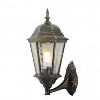 Уличный настенный светильник Arte Genova A1201AL-1BN
