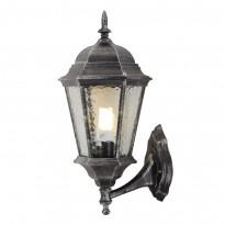 Уличный настенный светильник Arte Genova A1201AL-1BS