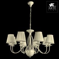 Светильник (Люстра) Arte Calamaro A2046LM-8WG