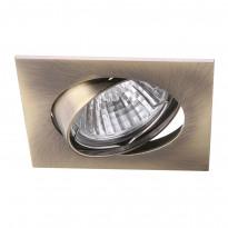 Светильник точечный Arte Quadratisch A2118PL-3AB