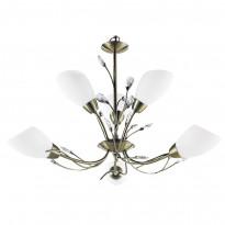 Светильник (Люстра) Arte Gardenia A2766LM-6AB