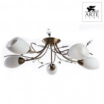 Светильник (Люстра) Arte Gardenia A2766PL-5AB