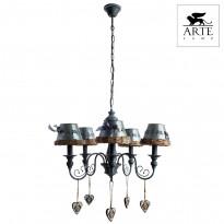Светильник (Люстра) Arte Fattoria A5290LM-5RI
