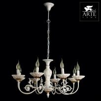 Светильник (Люстра) Arte Faina A5326LM-8WG