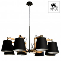 Светильник (Люстра) Arte Pinoccio A5700LM-8BK