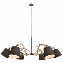 Светильник (Люстра) Arte Pinoccio A5703LM-6BK