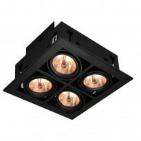 Светильник точечный Arte Gardani A5930PL-4BK
