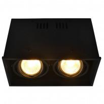 Светильник точечный Arte Gardani A5942PL-2BK
