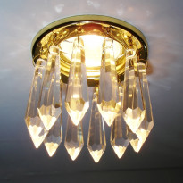 Светильник точечный Arte Brilliant A7001PL-1GO