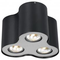 Светильник точечный Arte Falcon A5633PL-3BK