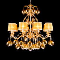 Светильник (Люстра) Arte Monarh A1199LM-8GO