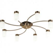 Светильник потолочный N-Light C1395AB.OM.8SPL Antique Brass