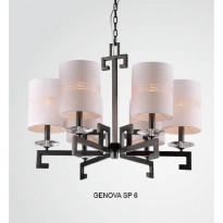 Светильник (Люстра) Crystal Lux GENOVA SP 6