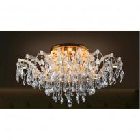Светильник потолочный Crystal Lux BEAUTY PL 10 ORO/CRYSTAL