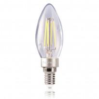 Светодиодная лампа свеча Voltega 220V E14 4W (соответствует 40 Вт) 420Lm 4000K (белый) 5710