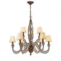 Светильник (Люстра) N-Light 6237/6+3 Spanish Bronze