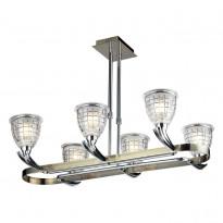 Светильник потолочный N-Light 402-06-17 Chrome + Antique Brass