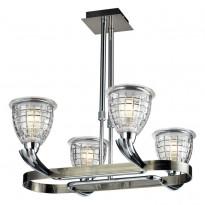 Светильник потолочный N-Light 402-04-17 Chrome + Antique Brass