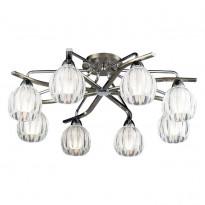 Светильник потолочный N-Light 404-08-13 Chrome + Antique Brass