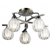 Светильник потолочный N-Light 404-05-13 Chrome + Antique Brass